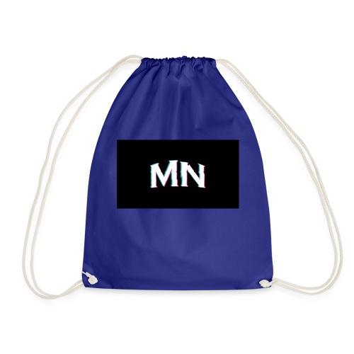 MN-Glitch Logo - Turnbeutel