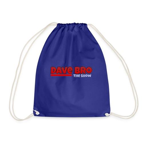 Dave Bro Logo - Turnbeutel