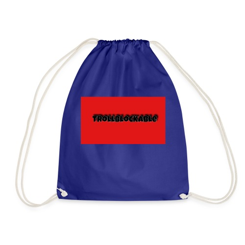 Trollblockable art - Drawstring Bag