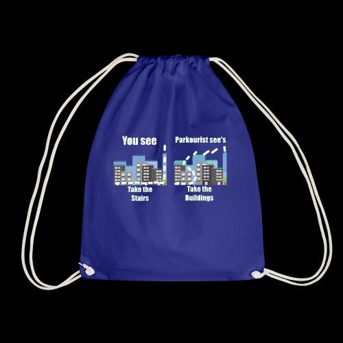 you see - Drawstring Bag