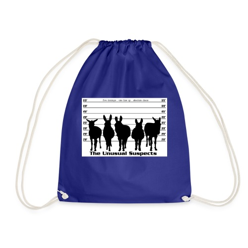 The unusual suspects - Drawstring Bag