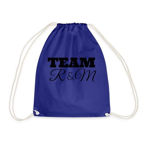Snapback team r&m - Drawstring Bag