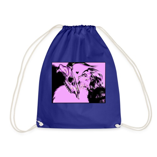 Melting Kiss - Drawstring Bag