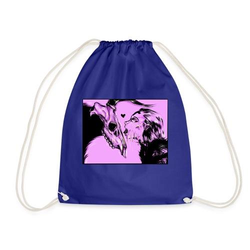 Melting Kiss - Drawstring Bag