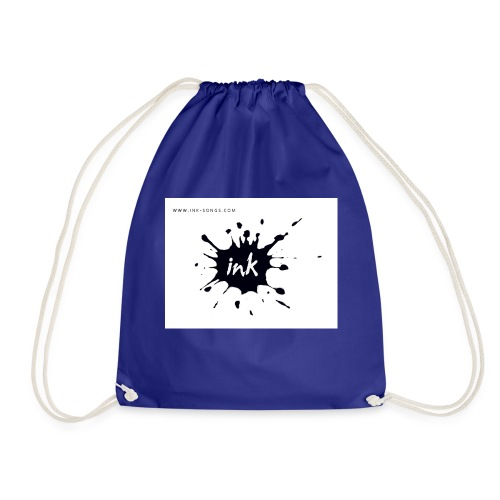 Ink Logo and website - Drawstring Bag