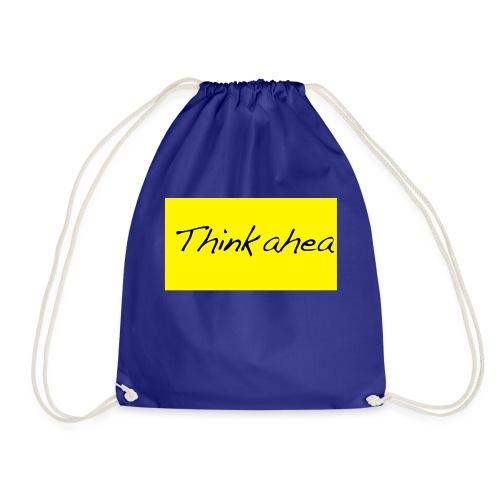 thinkahead - Drawstring Bag