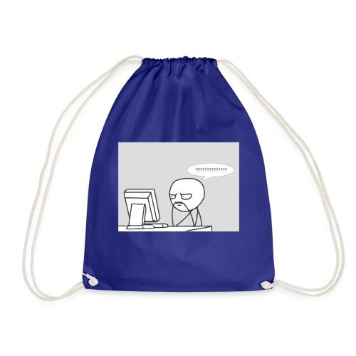 confused - Drawstring Bag