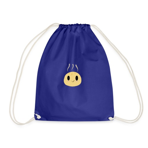 kawaii gyoza - Drawstring Bag