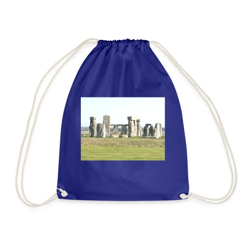 white rocks - Drawstring Bag