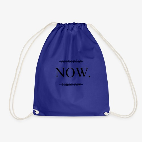 DO IT NOW! Geschenkidee Motivation - Turnbeutel