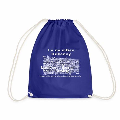 Lá na mban Kilkenny white - Drawstring Bag