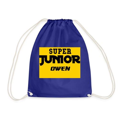 SJO Big DF Text - Drawstring Bag
