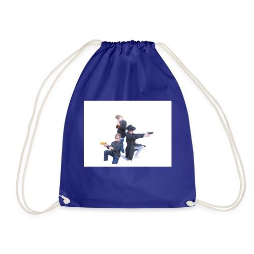 Plastic Tractor Arnmy - Drawstring Bag