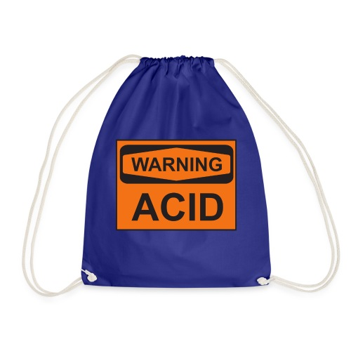 Warning Acid - Turnbeutel