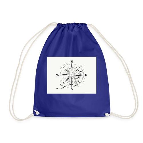 Kompass des Lebens - Turnbeutel