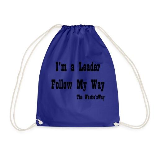 Follow My Way Black - Worek gimnastyczny