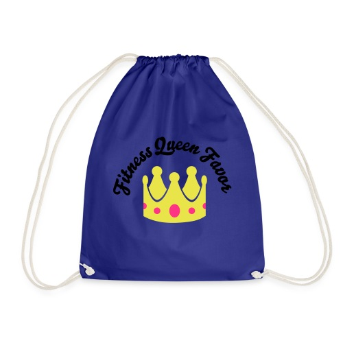 Fitness Queen Favor - Drawstring Bag