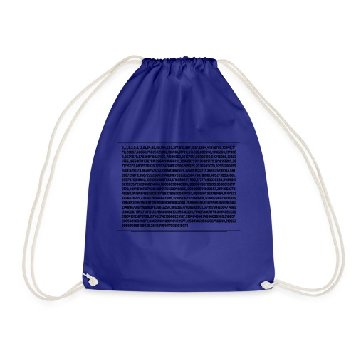 Fibonacci Shirt - Drawstring Bag
