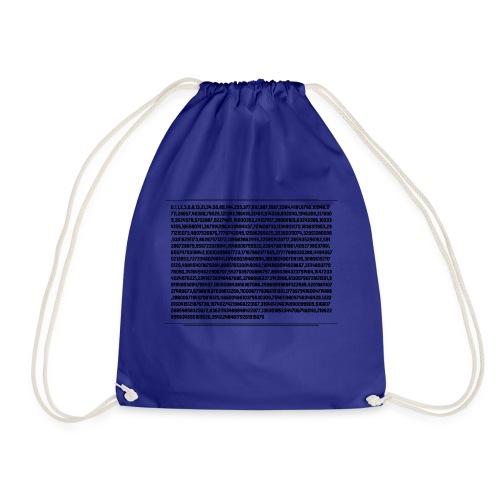 Fibonacci Shirt - Drawstring Bag