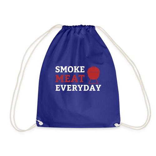 smoke meat everyday shirt - Turnbeutel