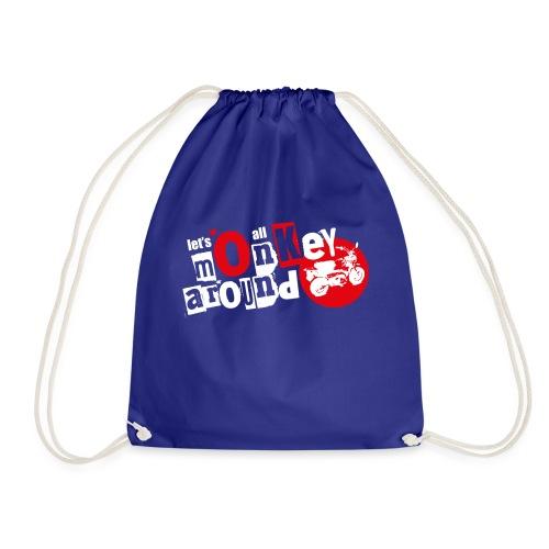 Monkey Around T-Shirt - Drawstring Bag