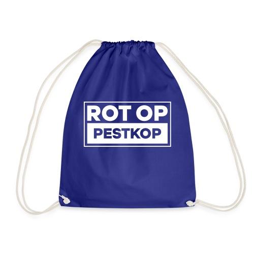 Rot Op Pestkop - Block White - Gymtas