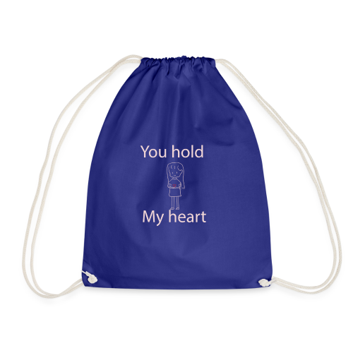 you hold my heart - Turnbeutel