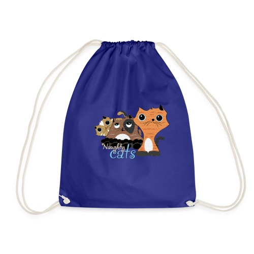 traviesos gatos divertidos - Mochila saco