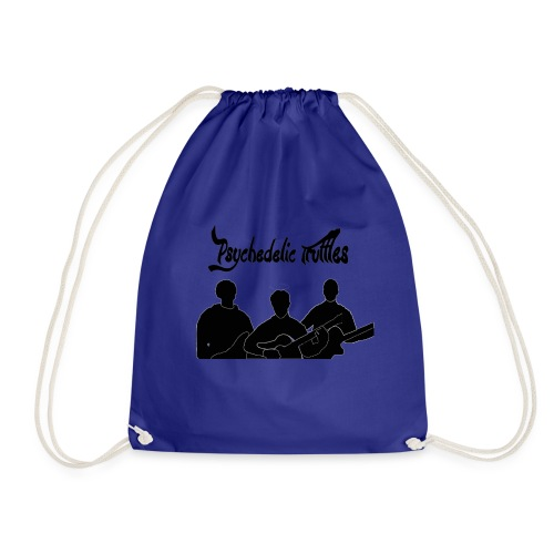 PsychedelicSilhouttes - Drawstring Bag