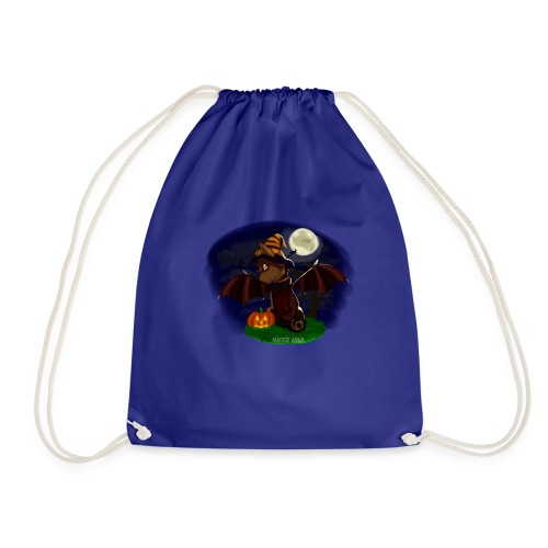 Mindy pumpkin witch - Drawstring Bag