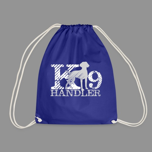 K-9 Handler - German Shorthaired Pointer - Drawstring Bag