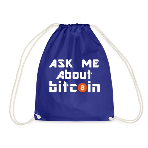 Ask For Bitcoins - Turnbeutel