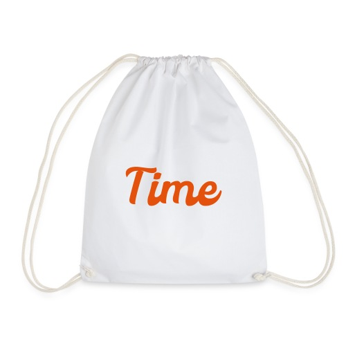 Waste your time it's free - Drawstring Bag