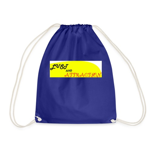 lust ans attraction - Drawstring Bag