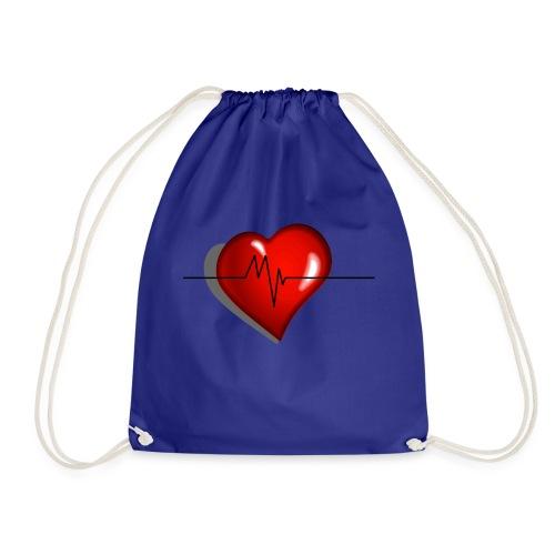 heart - Sacca sportiva