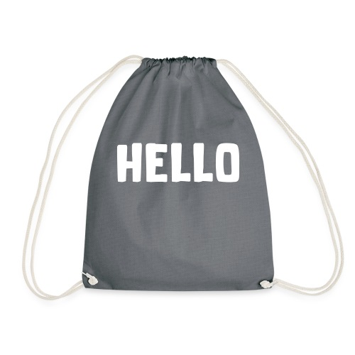 Hello #1 - Turnbeutel