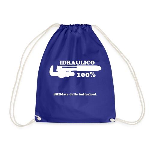 Idraulico 100% - Sacca sportiva
