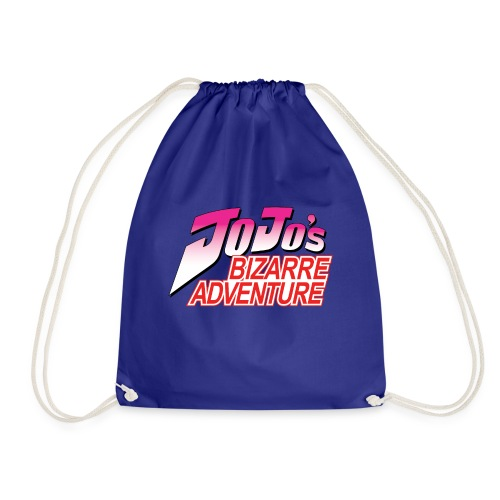 Jojo's Bizarre Adventure Logo T Shirt - Mochila saco