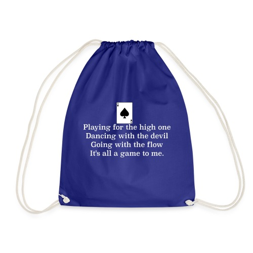 ace of spades lyrics #1 - Drawstring Bag