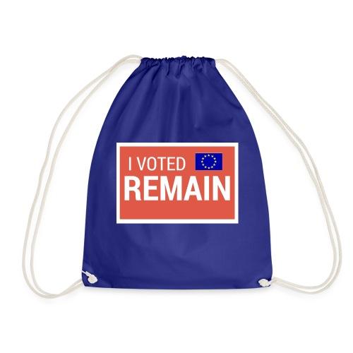 Remain - Drawstring Bag