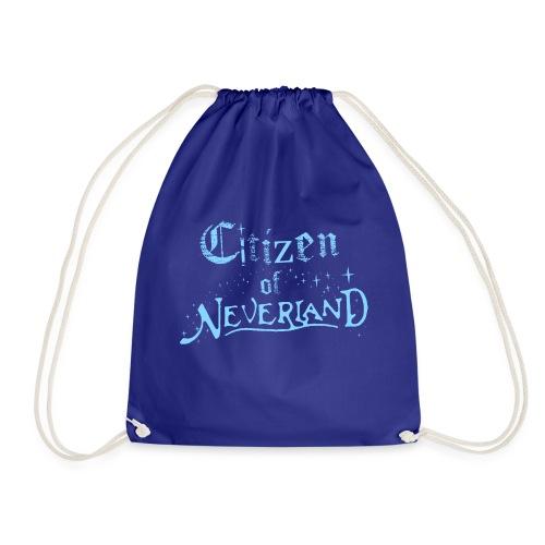 Citizen_blue 02 - Drawstring Bag