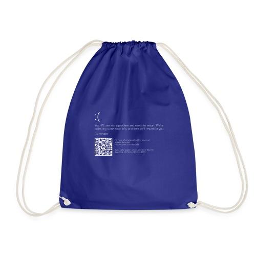 Windows 10 Blue Screen - Drawstring Bag