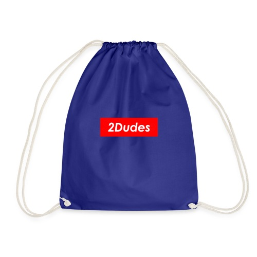 2Dudes Box Logo - Drawstring Bag