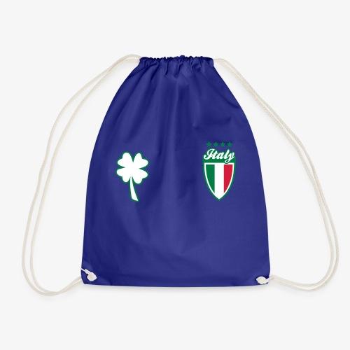Italia Scudo e trifoglio - Sacca sportiva