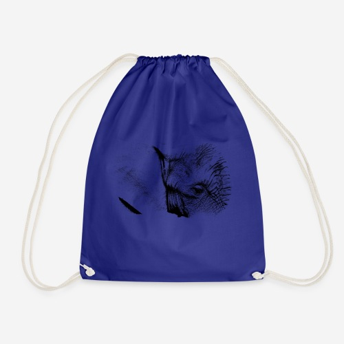 Elephant #001 - Drawstring Bag