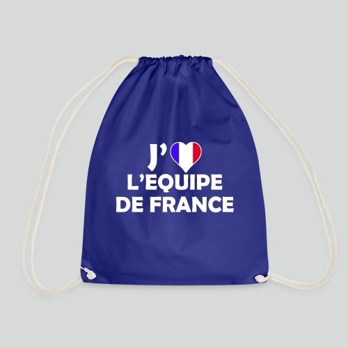 J'aime L'équipe de France (B) - Sac de sport léger