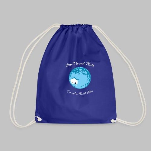 Sad Pluto - Drawstring Bag