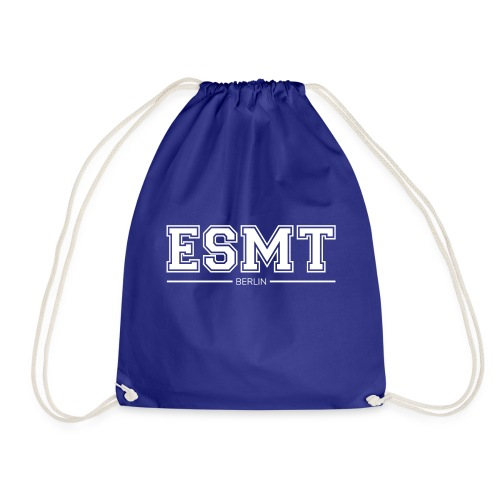 ESMT Berlin Font White - Drawstring Bag