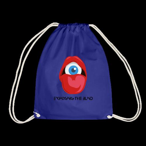 Exposing the blind Logo - Drawstring Bag
