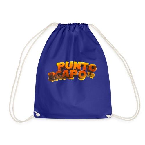Maglietta PuntoACapo- Original Design- - Drawstring Bag
